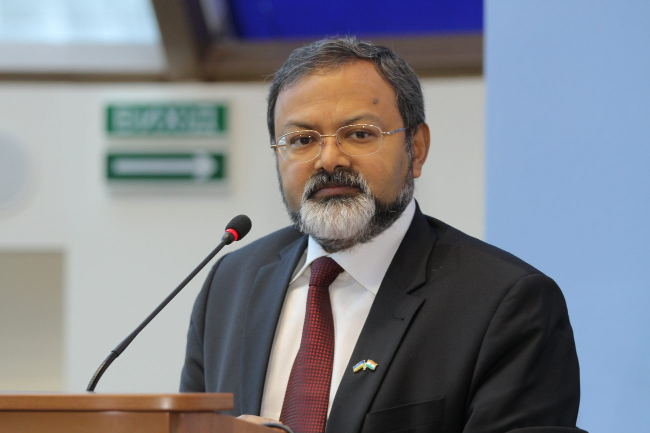 Interview with HE Manoj K  Bharti - Ambassador of India in Ukraine