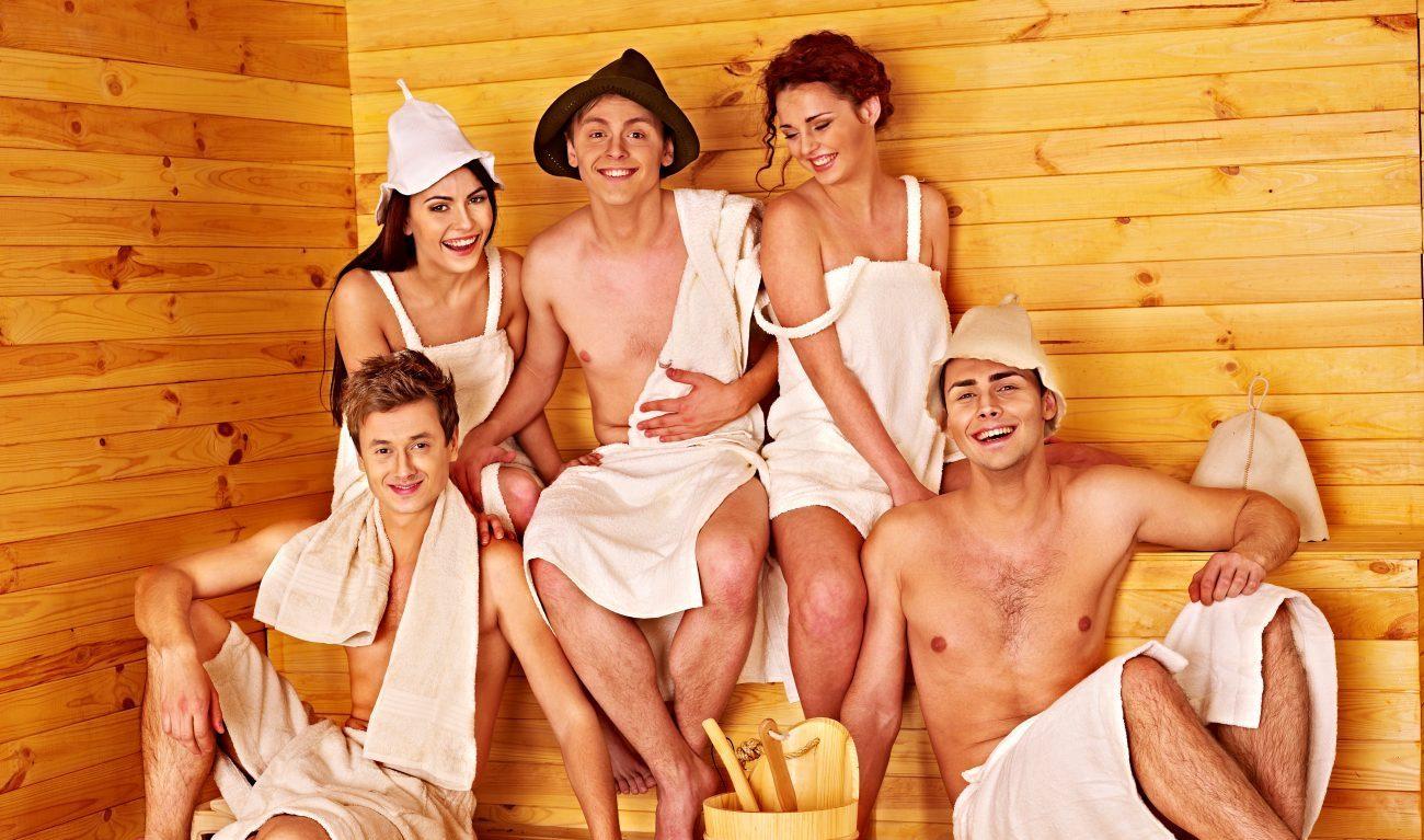 Фото русские семейные пары в бане, Наш семейный поход в баню (16 фото) 28 фотография